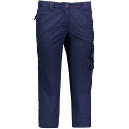 Dámské 3/4 kalhoty ALPINE PRO LINNA TMAVĚ MODRÁ