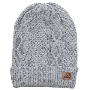 Pánská zimní čepice ALPINE PRO REME SVĚTLE ŠEDÁ