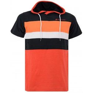 Pánské triko s krátkým rukávem ALPINE PRO GREB ČERNÁ