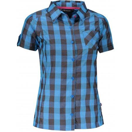 Dámská košile s krátkým rukávem ALPINE PRO LURINA LSHJ011 MODRÁ