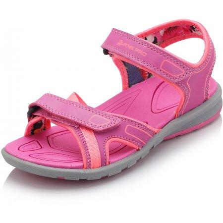 Dámské sandále ALPINE PRO GOBINDA LBTJ129 RŮŽOVÁ