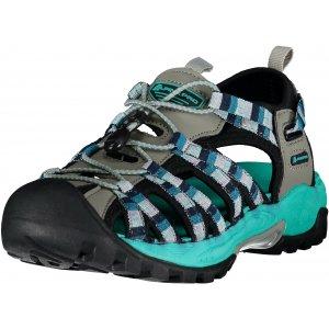 Dámské sandále ALPINE PRO LANCASTER UBTJ008 SVĚTLE ŠEDÁ