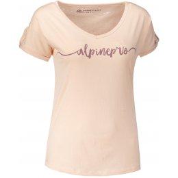 Dámské triko s krátkým rukávem ALPINE PRO ATTALA 3 LTSJ187 SVĚTLE RŮŽOVÁ