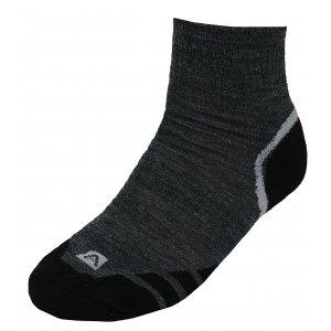 Ponožky ALPINE PRO GENTIN USCK023 TMAVĚ ŠEDÁ