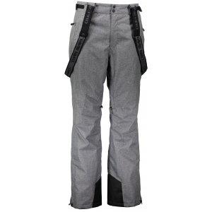 Pánské lyžařské kalhoty ALPINE PRO SANGO 5 MPAK263 TMAVĚ ŠEDÁ