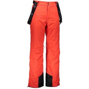 Pánské lyžařské kalhoty ALPINE PRO MOLINI 3 MPAK211 ČERVENÁ