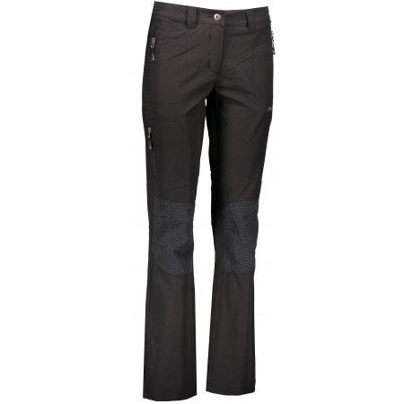 Dámské softshellové kalhoty ALPINE PRO POPA LPAK117 ČERNÁ
