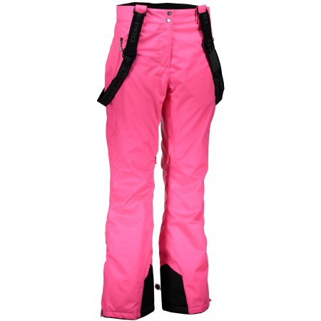 Dámské lyžařské kalhoty ALPINE PRO MINNIE 3 LPAK186 RŮŽOVÁ