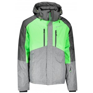 Pánská lyžařská bunda ALPINE PRO SARDAR MJCK220 ZELENÁ