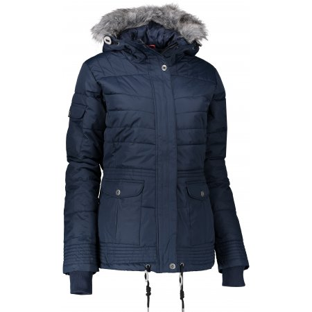 Dámská zimní bunda ALPINE PRO ICYBA 3 LJCK181 TMAVĚ MODRÁ