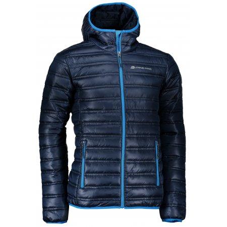 Pánská zimní bunda ALPINE PRO MUNSR 2 MJCK215 TMAVĚ MODRÁ