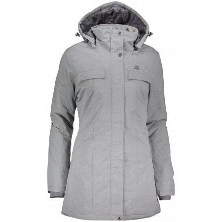 Dámský kabát ALPINE PRO WESTINA LCTK046 ŠEDÁ