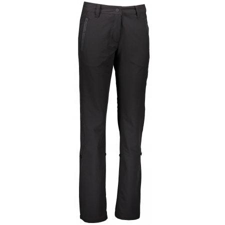 Dámské softshellové kalhoty ALPINE PRO HYPSEUS 2 LPAL211 ČERNÁ