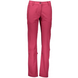 Dámské softshellové kalhoty ALPINE PRO HYPSEUS 2 LPAL211 RŮŽOVÁ