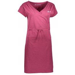 Dámské šaty ALPINE PRO JURUA 2 LSKL094 TMAVĚ FIALOVÁ