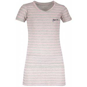 Dívčí šaty ALPINE PRO CHENOO 2 KSKL025 SVĚTLE ŠEDÁ