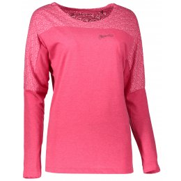 Dámské triko s dlouhým rukávem ALPINE PRO MALA 2 LTSL280 RŮŽOVÁ