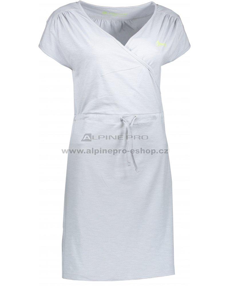 ff18abd25ff6 Dámské šaty ALPINE PRO JURUA 2 LSKL094 SVĚTLE ŠEDÁ velikost  L ...