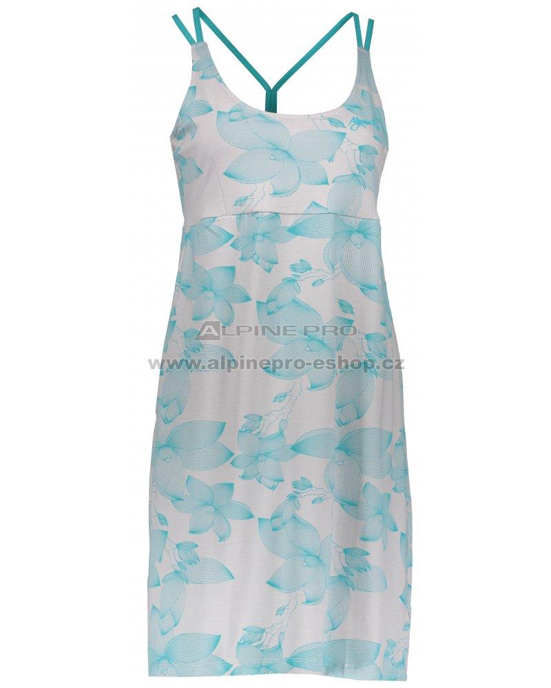 3c5c8ee1dccc Dámské šaty ALPINE PRO PERENA 2 LSKL096 ŠEDOMODRÁ velikost  M ...