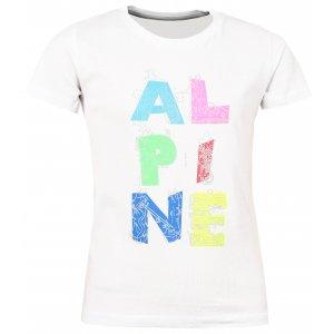 Dětské triko s krátkým rukávem ALPINE PRO AXISO 2 KTSL097 BÍLÁ