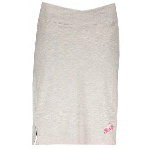 Dámská sukně ALPINE PRO MANIQUA 2 LSKL097 ŠEDÁ