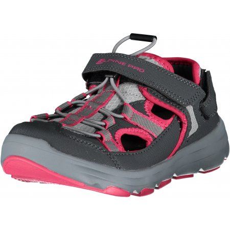 Dámské sandále ALPINE PRO CARLEO UBTL158 TMAVĚ RŮŽOVÁ