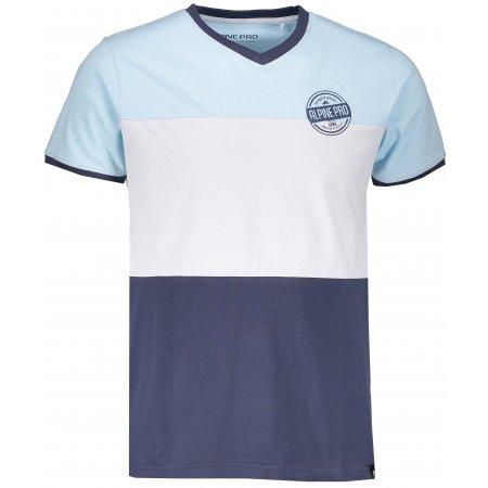 Pánské tričko s krátkým rukávem ALPINE PRO MIES MTSL271 MODRÁ