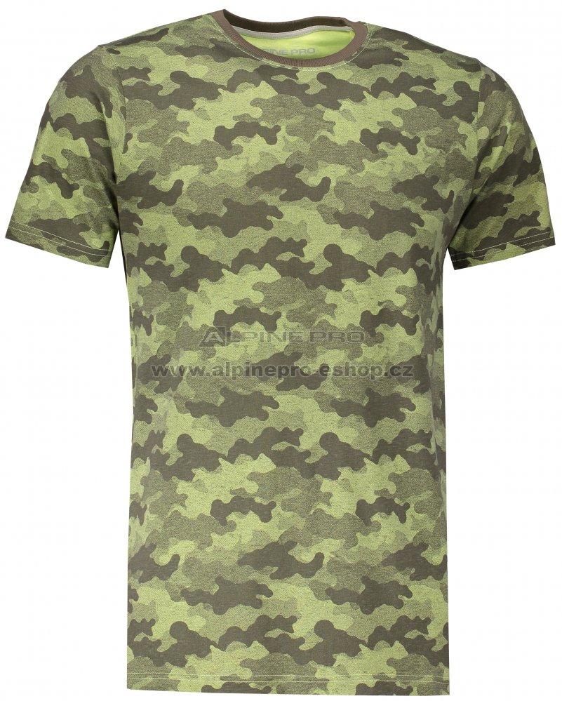 ee0f4b94fc7e Pánské tričko s krátkým rukávem ALPINE PRO KERP 2 MTSL270 MASKÁČOVÁ ...