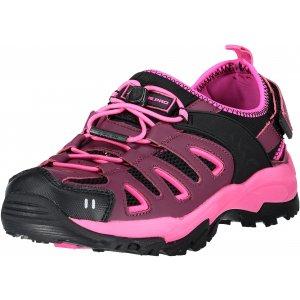 Dámské sandále ALPINE PRO BATSU 2 UBTL157 TMAVĚ FIALOVÁ