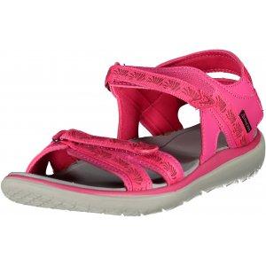 Dámské sandále ALPINE PRO MOLLY LBTL165 TMAVĚ RŮŽOVÁ