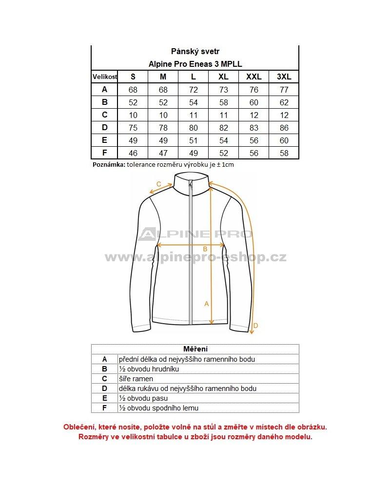 Pánský svetr ALPINE PRO ENEAS 3 MPLL040 TMAVĚ MODRÁ velikost  M ... a9c45c507d
