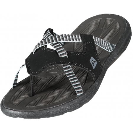 Dámské pantofle ALPINE PRO ADRA LBTL169 ČERNÁ