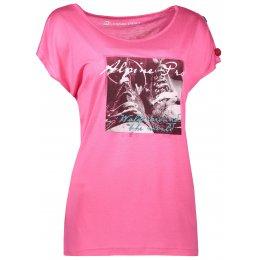 Dámské triko s krátkým rukávem ALPINE PRO RICCA LTSL381 RŮŽOVÁ