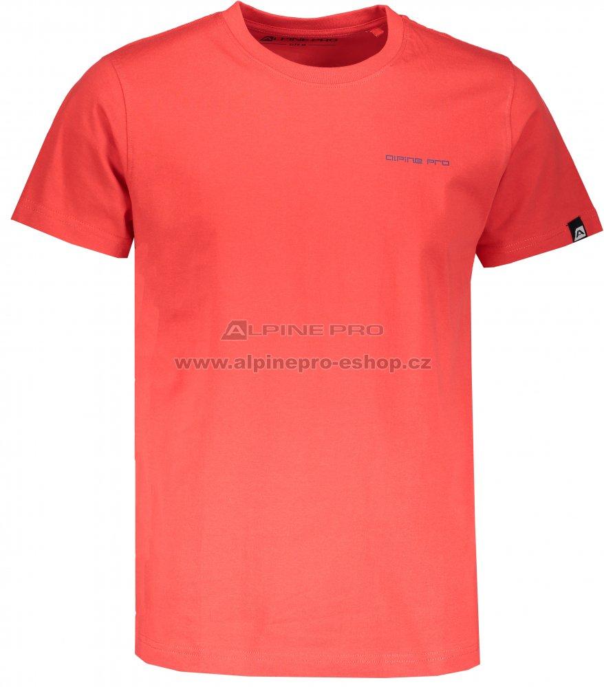 Pánské triko s krátkým rukávem ALPINE PRO ATALA 5 MTSL256 ČERVENÁ ... 3acaa8ea61