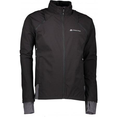 Pánská softshellová bunda/vesta ALPINE PRO CHENG MJCL248 ČERNÁ