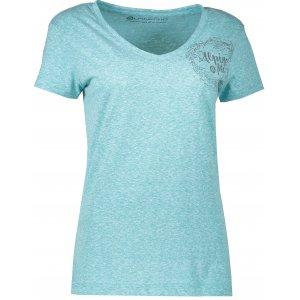 Dámské triko s krátkým rukávem ALPINE PRO KERPA 2 LTSL291 MODRÁ