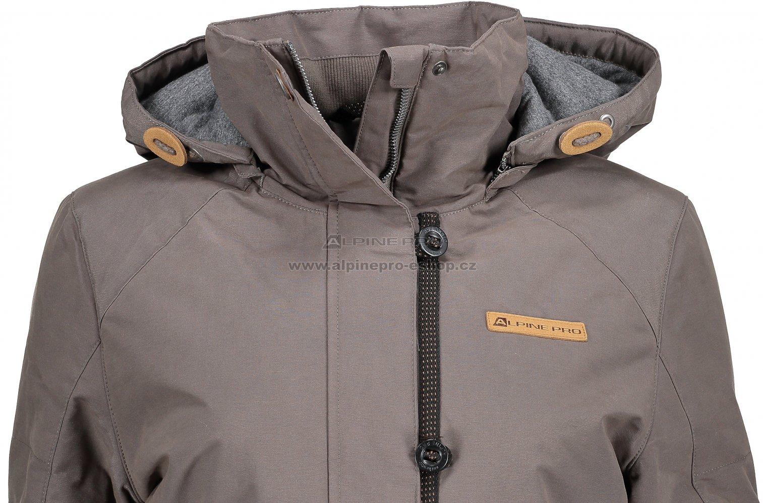 Dámský kabát ALPINE PRO EDITE 4 LCTM066 BÉŽOVÁ velikost  S ... dcdb9374341