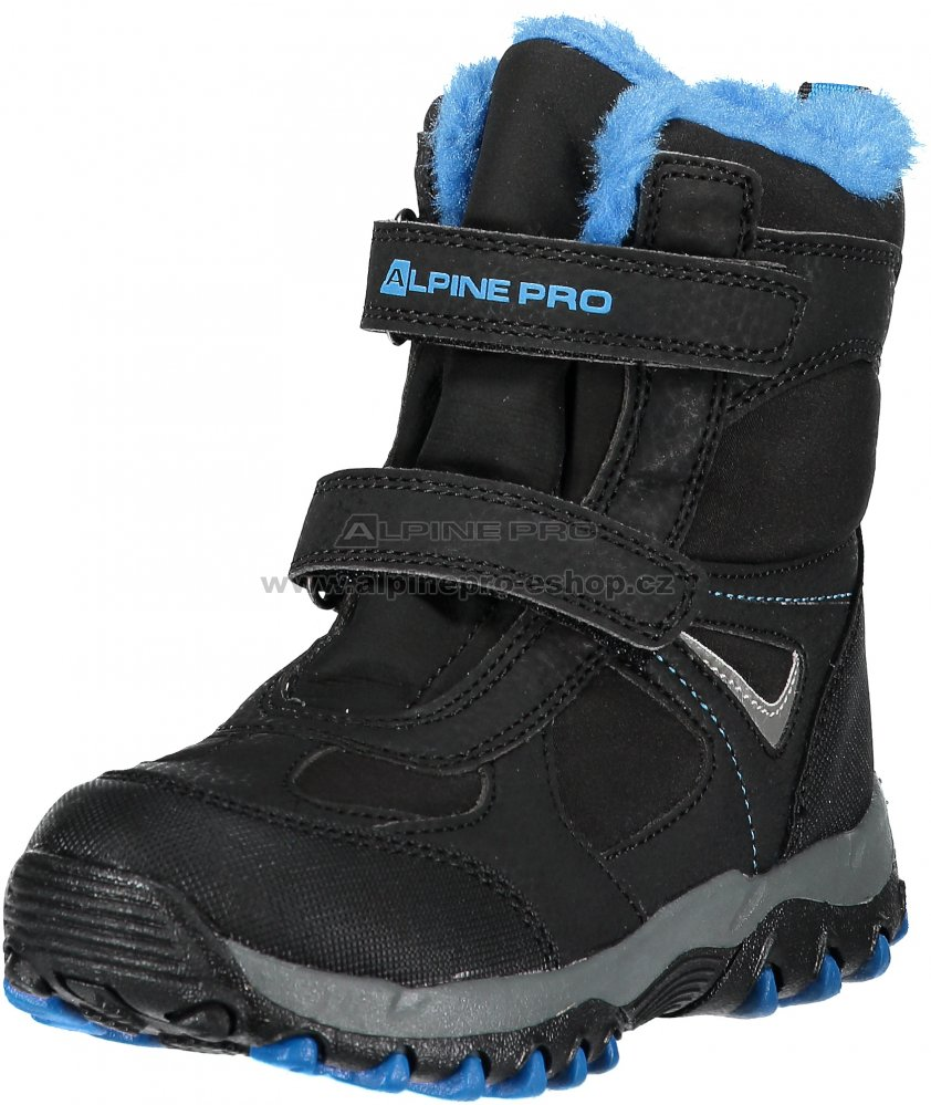 2e23ad924c4 Dětské zimní boty ALPINE PRO WANO KBTM169 MODRÁ velikost  22 ...