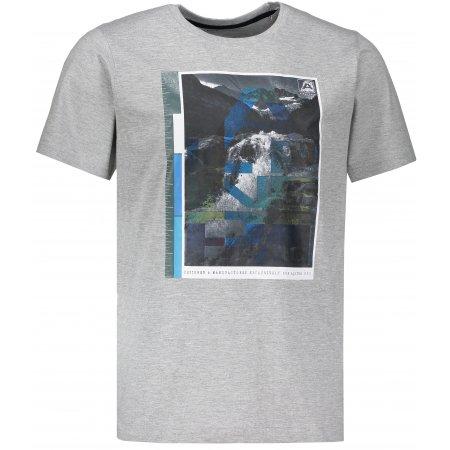 Pánské triko ALPINE PRO NAKOV MTSM381 SVĚTLE ŠEDÁ
