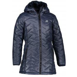 Dětský zimní kabát ALPINE PRO ISSO KCTM013 TMAVĚ MODRÁ