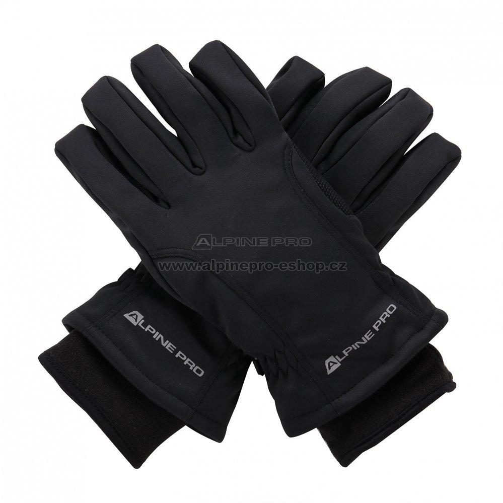 b04370a2ce9 Zimní softshellové rukavice ALPINE PRO KAHUG UGLM006 ČERNÁ velikost ...