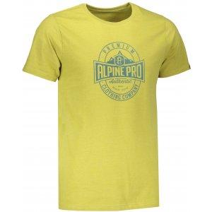 Pánské triko ALPINE PRO TIBERIO 6 MTSM310 KHAKI