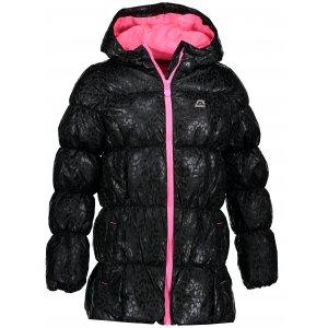 Dívčí zimní bunda ALPINE PRO MAIRO KJCM138 ČERNÁ