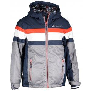 Dětská lyžařská bunda ALPINE PRO WIREMO 2 KJCM121 TMAVĚ MODRÁ