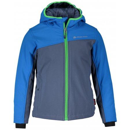 Dětská zimní softshellová bunda ALPINE PRO NOOTKO INS. KJCM103 MODRÁ
