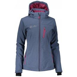 Dámská zimní softshellová bunda ALPINE PRO NOOTKA INS. LJCM255 ŠEDÁ