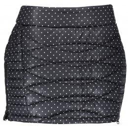 Dámská zateplená sukně ALPINE PRO FELIPA 2 LSKM099 ČERNÁ