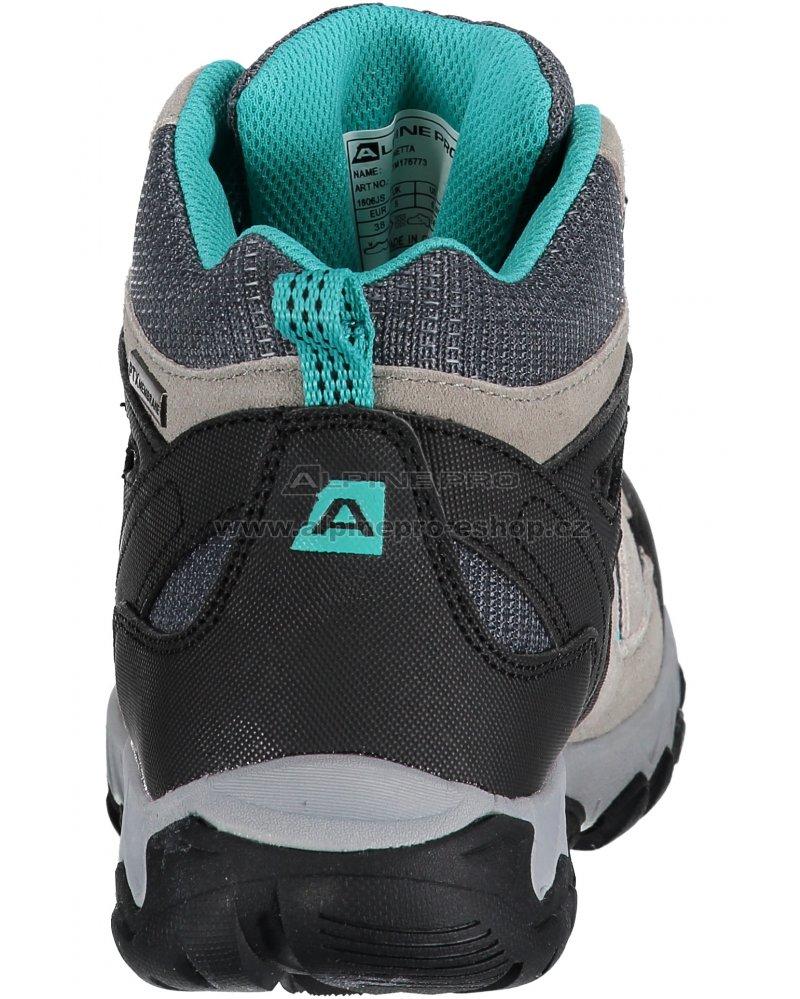 Dámská turistická obuv ALPINE PRO ARNETTA LBTM176 SVĚTLE ŠEDÁ ... 13b7d6d0a88