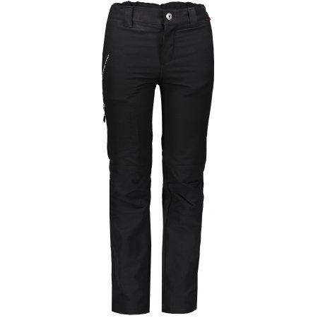 Dětské softshellové kalhoty ALPINE PRO PLATAN 2 KPAM049 ČERNÁ