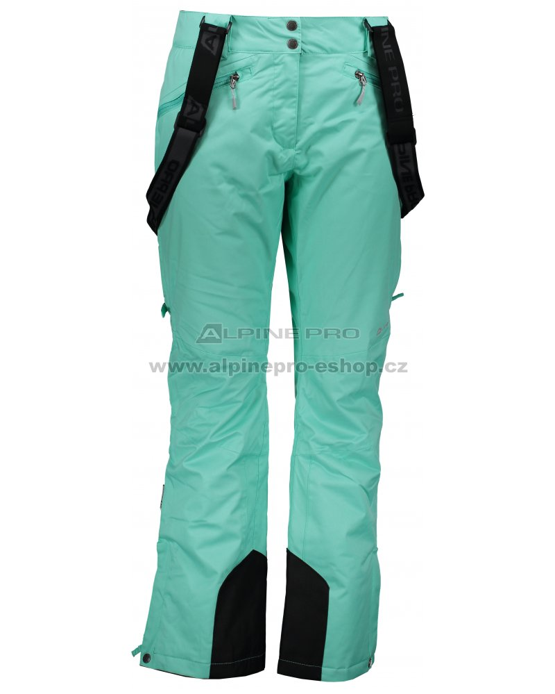 Dámské lyžařské kalhoty ALPINE PRO MINNIE 4 LPAM280 ZELENÁ velikost ... 2034e53019